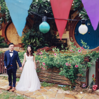 Overseas wedding photography: A whimsical, laid-back photo shoot in Khao Yai, Thailand