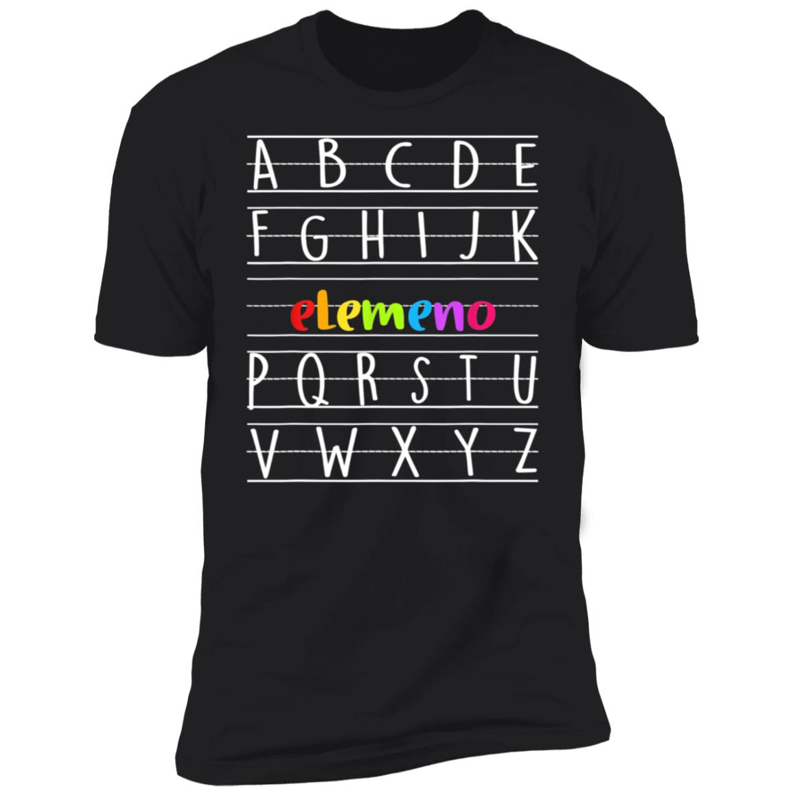 Abc Elemeno Alphabet Shirt Preschool Kindergarten Teacher