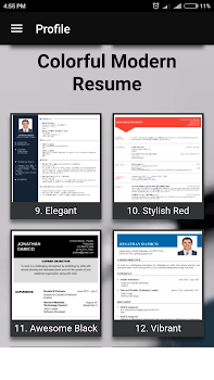 Free resume builder CV maker templates PDF formats   by Aristoz    4         Free resume builder CV maker templates PDF formats