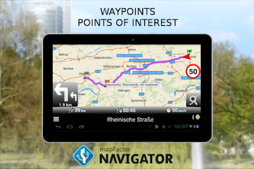 Best 10 Offline Maps   Navigation Apps   AppGrooves     MapFactor GPS Navigation Maps