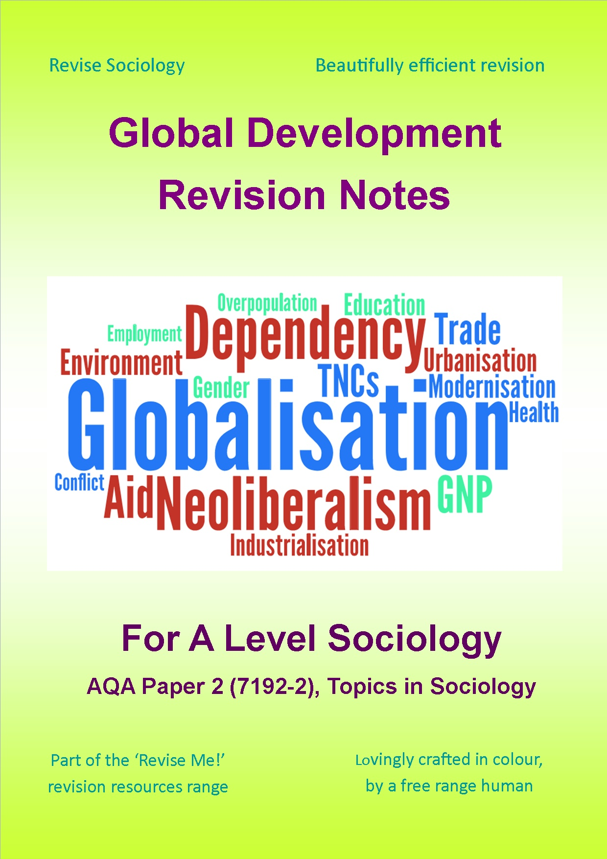 Global Development Revision Notes For A Level Sociolog