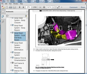 Ford F250F550 Super Duty 20132016 Repair Manual