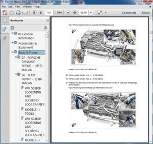 Porsche Macan 2015 2016 Repair Manual  servicemanualspdf