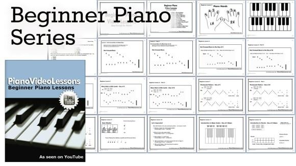 Pre-Staff Beginner Piano Lessons - PVL | pianovideolessons ...