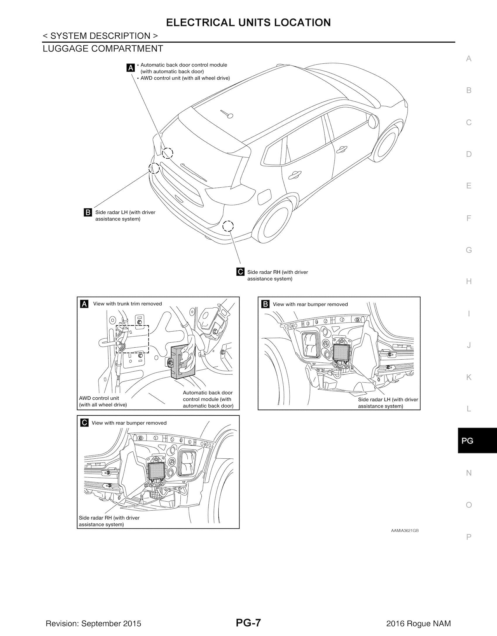 Nissan Rogue T32 Series Service Manual
