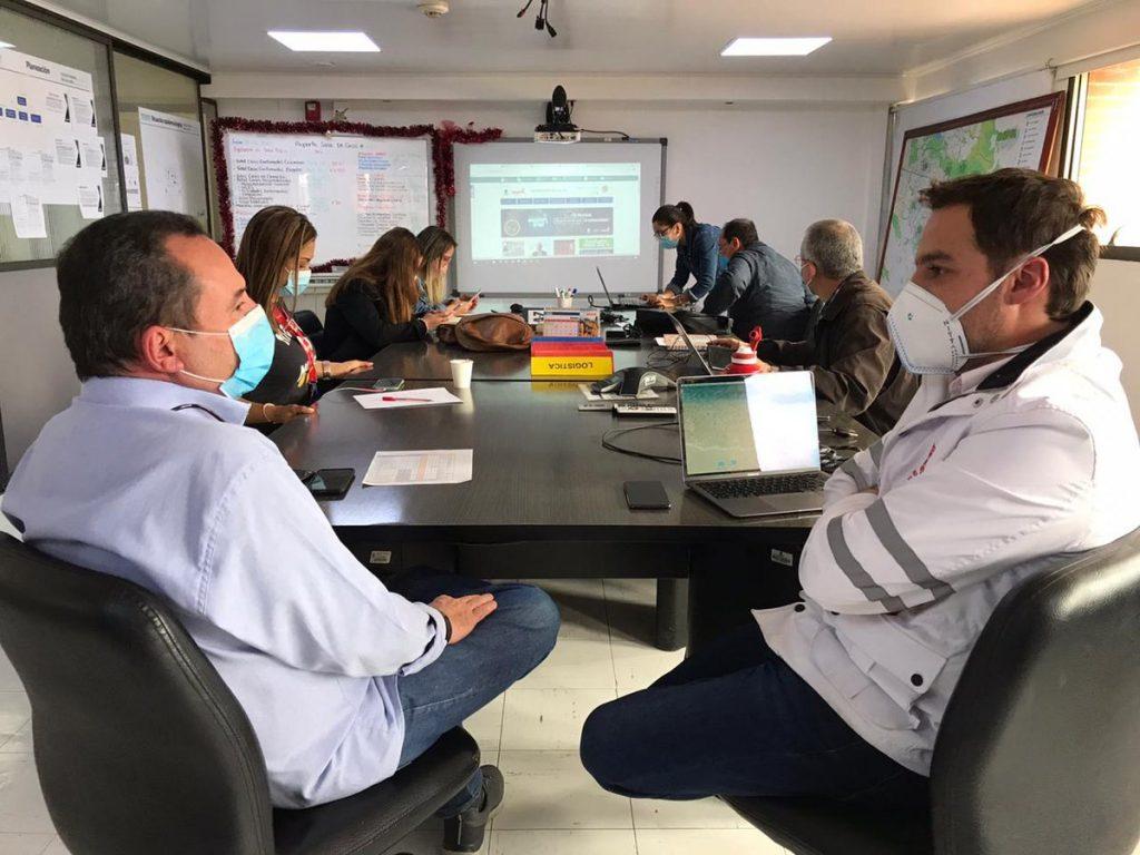 Alcaldu00eda de Bogotu00e1 / Reuniu00f3n entre alcalde encargado de Bogotu00e1 y su secretario de Salud.