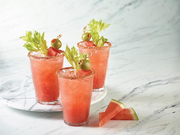Watermelon Bloody Mary
