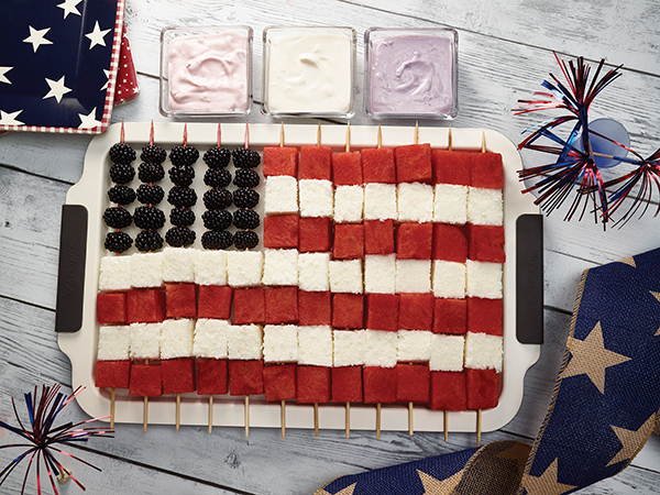 Patriotic Themed Recipes Free Cooking and BBQ Magazine