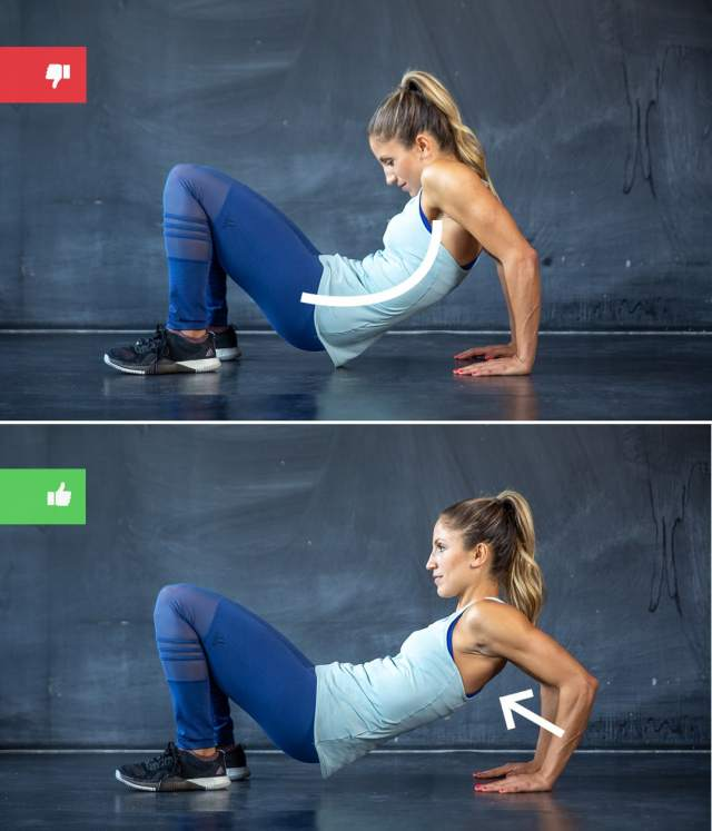 dips mistake2 - Right & Wrong: Most Common Bodyweight Exercise Mistakes