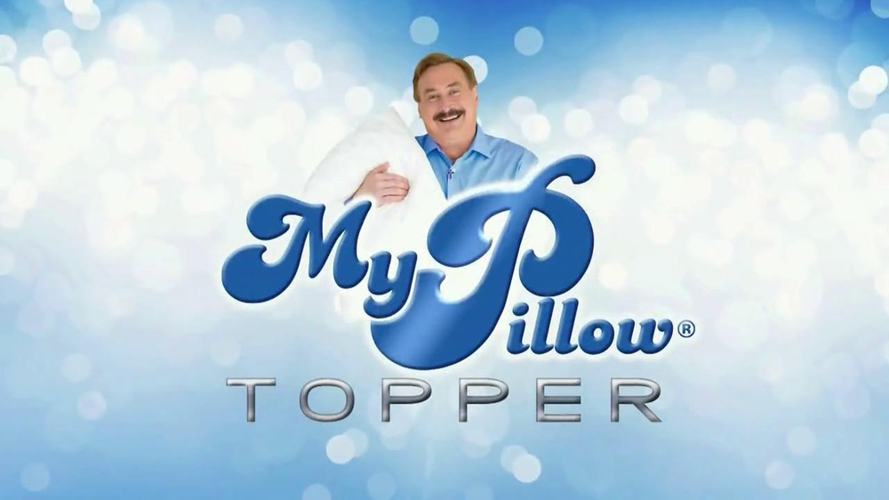 my pillow topper tv commercial hot and cold