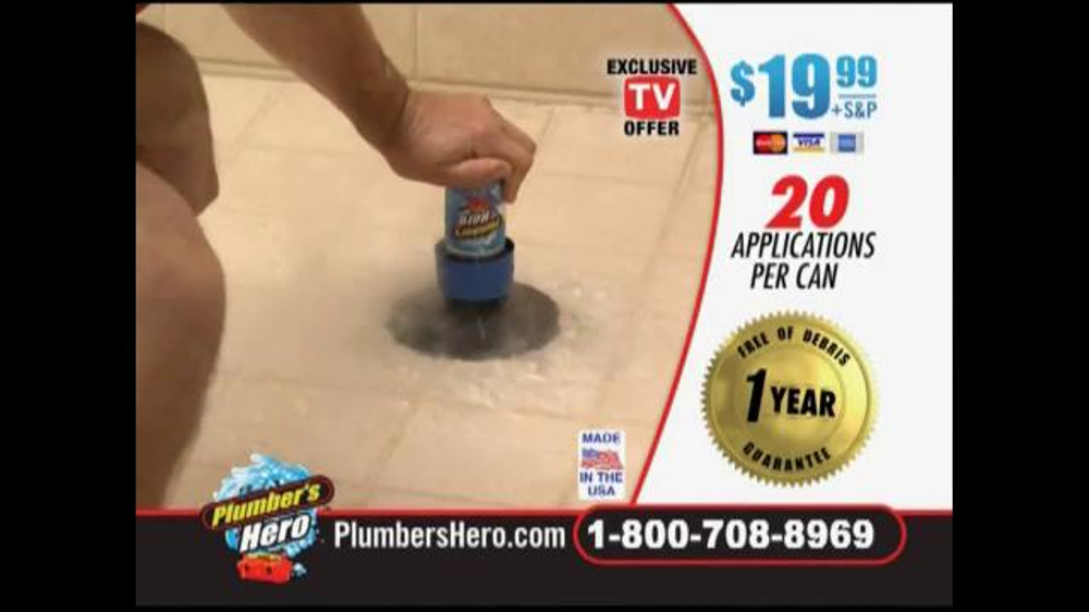 Plumber S Hero Tv Commercial Unclog The Mess Ispot Tv