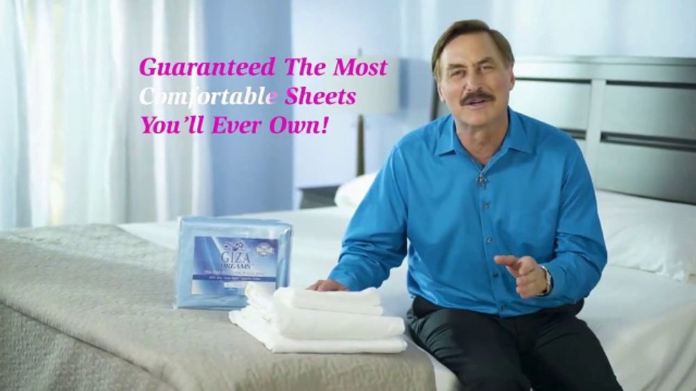 my pillow giza dream sheets tv commercial variety of colors