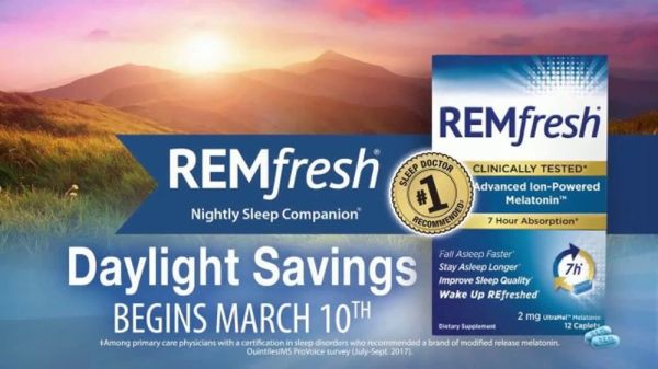 REMfresh TV Commercial, 'Daylight Savings Reminder' - iSpot.tv