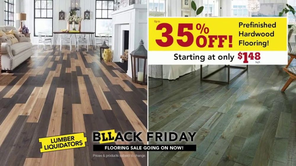 lumber liquidators black friday flooring sale tv commercial lowest prices of the year