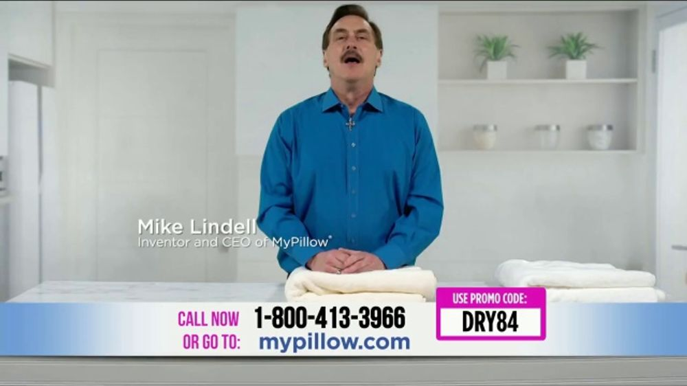 my pillow towels tv commercial absorption test