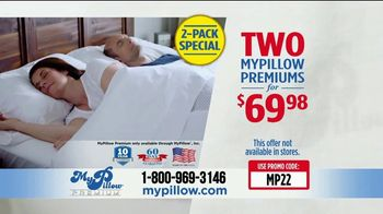 my pillow tv commercial your support 2 pack