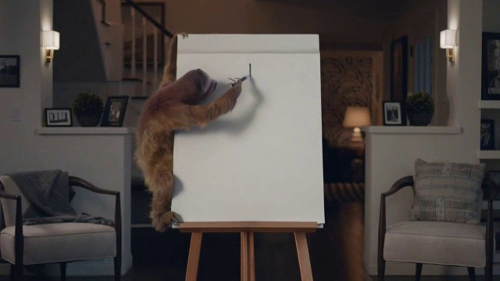 Geico Tv Commercial Game Night With A Sloth Ispot Tv