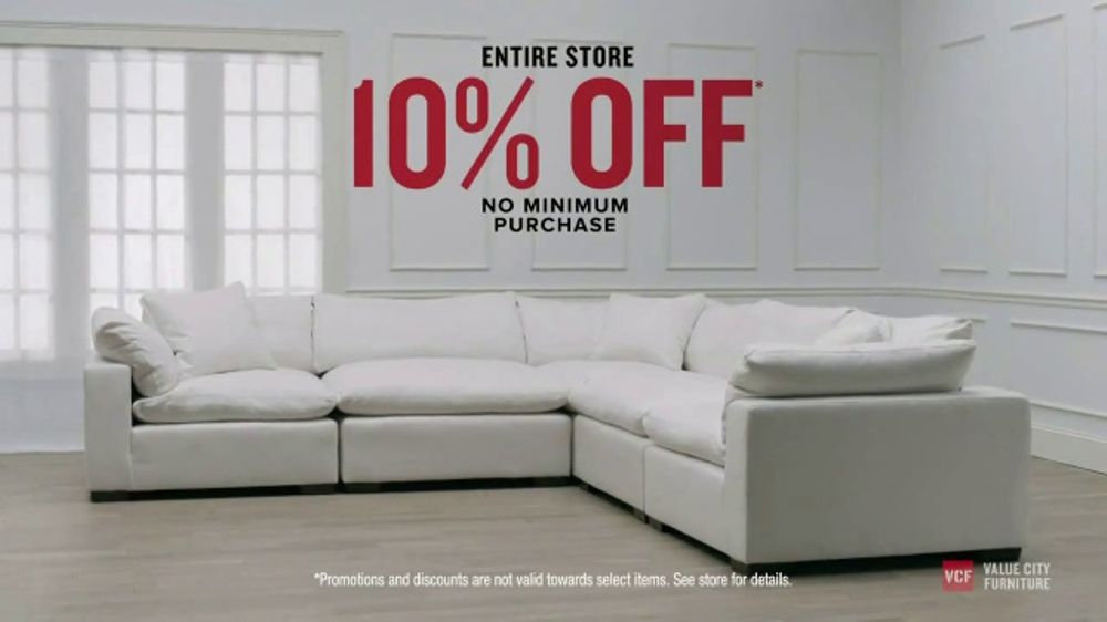 Marketwatch explains that furniture is one of the. Value City Furniture Presidents' Day Sale TV Commercial ...