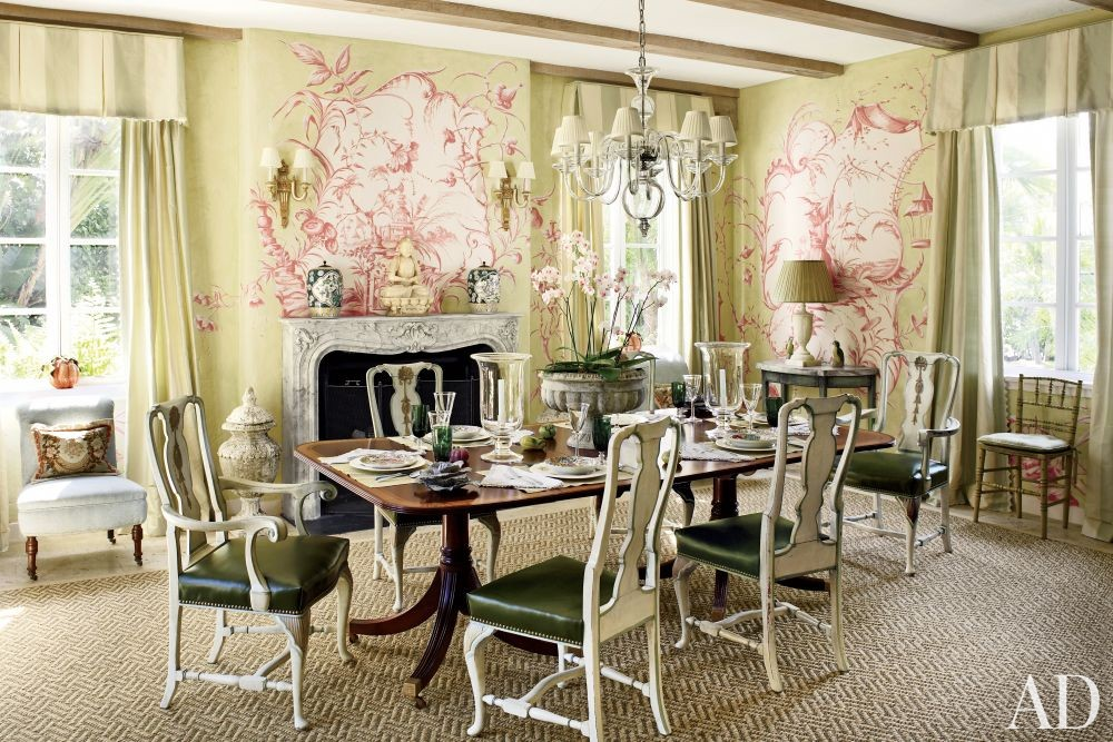 Traditional Dining Room By Nancy Morton By Architectural