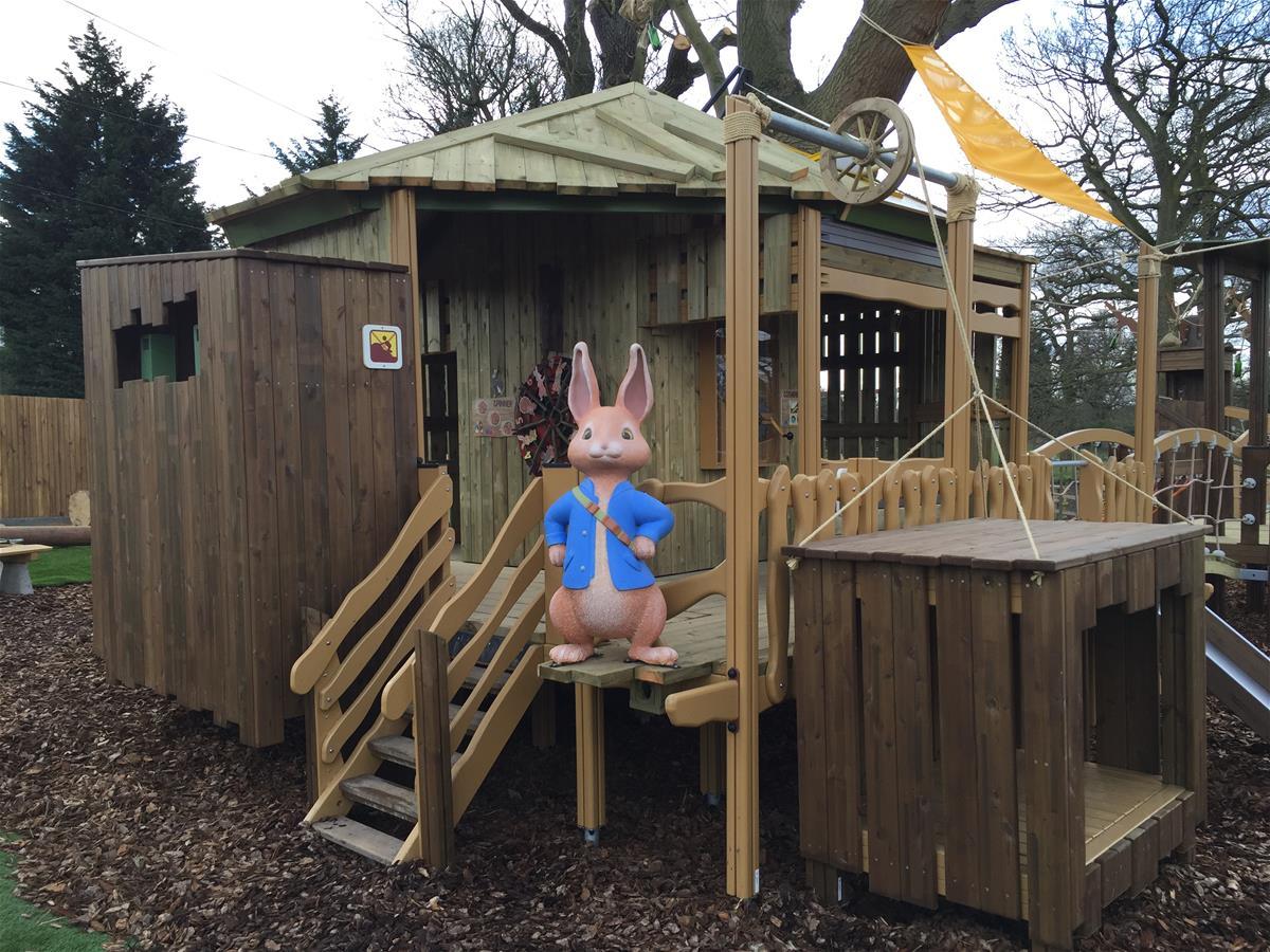 Lappset Creates PETER RABBIT Adventure Playground At