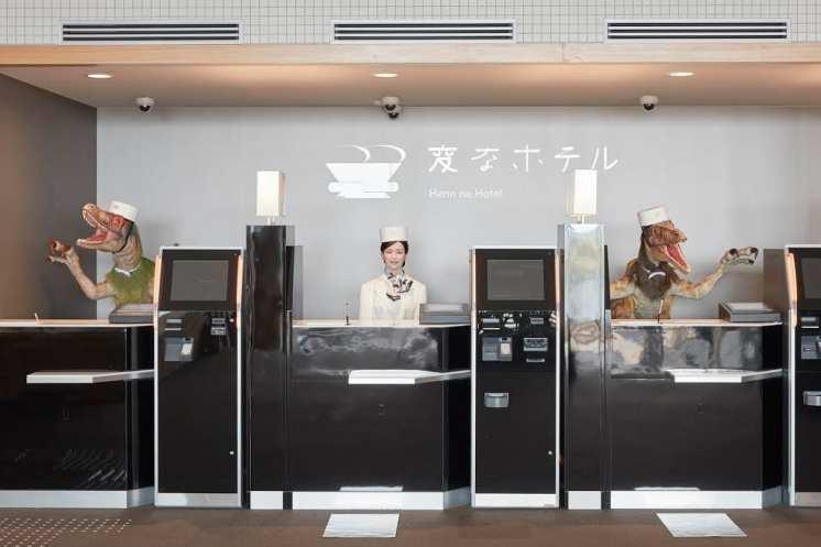 Image result for Henn-na hotel robots