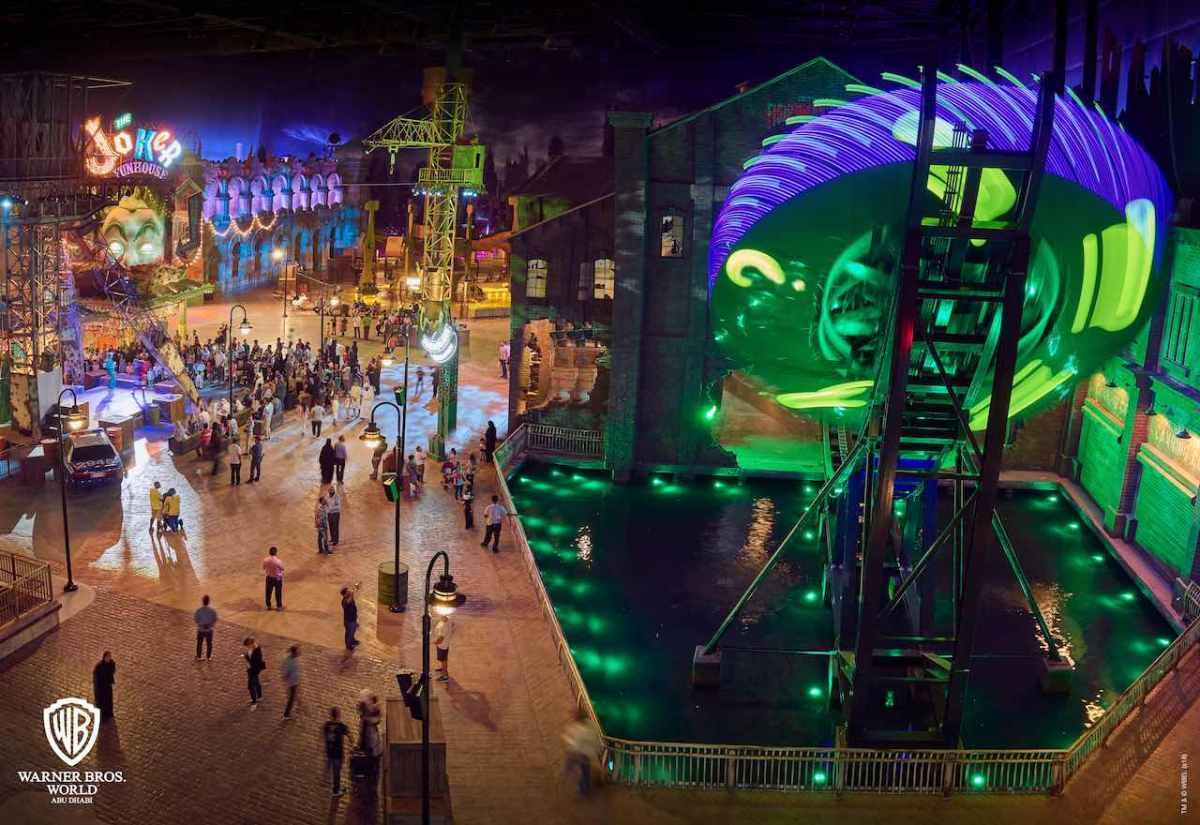 Image result for Dubai Warner Bros gotham City