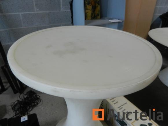 round table white rigid pvc pvc high