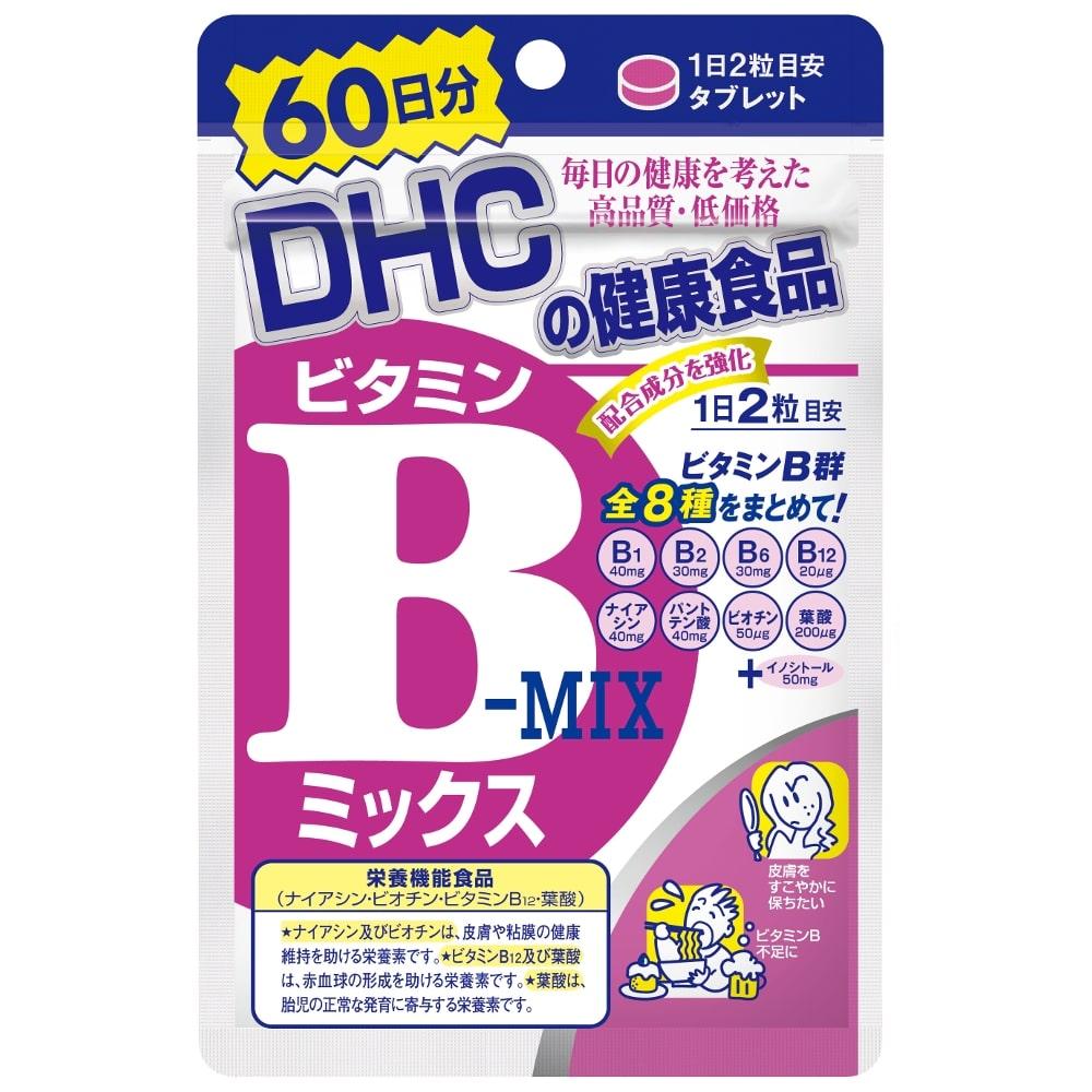 DHC 60日分 ビタミンBミックス(ビタミンBミックス): 栄養補助食品 ...