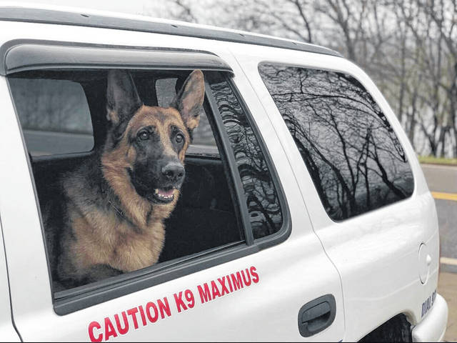 Rutland K-9 Maximus Police Department