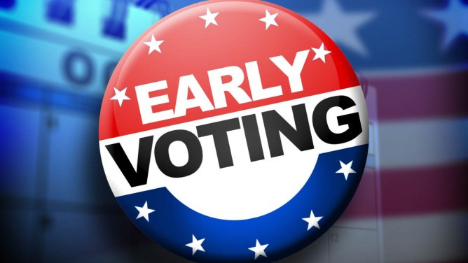 Early voting begins Tuesday; Local, state and federal seats on ballot