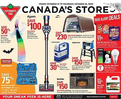 Canadian Tire | Local Stores | reebee