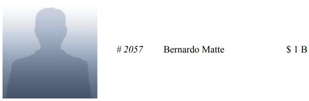 Bernardo Matte