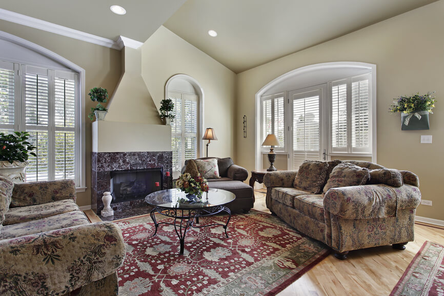 75 Formal & Casual Living Room Designs & Furniture on Fireplace Casual Living id=80647