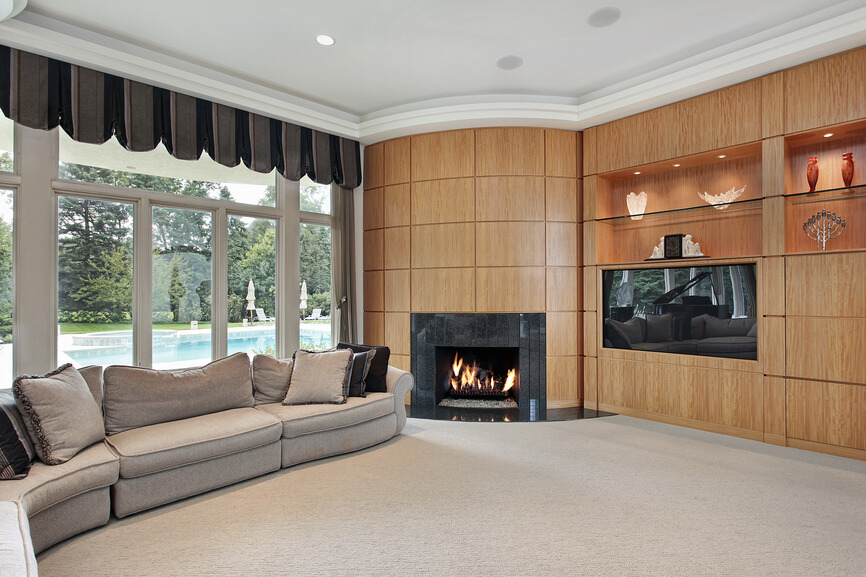 75 Formal & Casual Living Room Designs & Furniture on Fireplace Casual Living id=74101