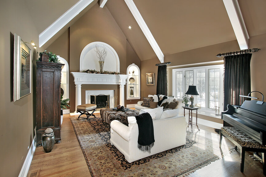 75 Formal & Casual Living Room Designs & Furniture on Fireplace Casual Living id=40975