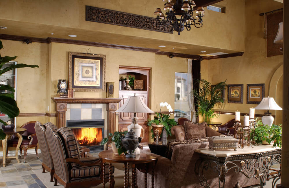 75 Formal & Casual Living Room Designs & Furniture on Fireplace Casual Living id=19363