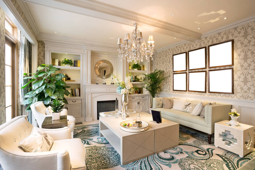 75 Formal & Casual Living Room Designs & Furniture on Fireplace Casual Living id=33028