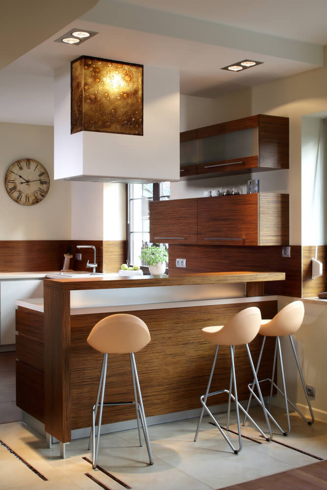 43 Small Kitchen Design Ideas (Some Are Incredibly Tiny) on Modern Kitchen Counter Decor  id=57604