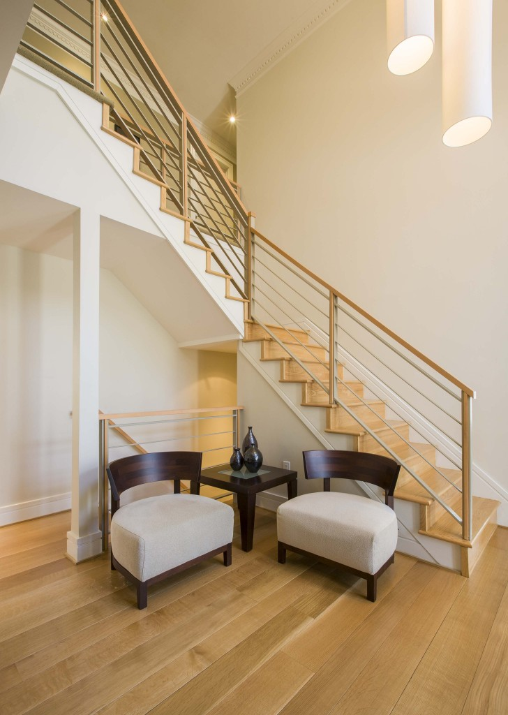 Home Renovation Results In Stunning Modern Interior Design