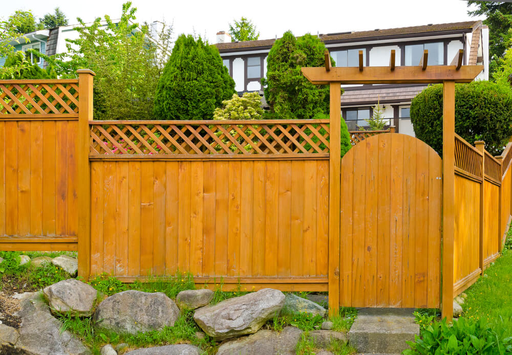 75 Fence Designs and Ideas (BACKYARD & FRONT YARD) on Gate Color Ideas  id=90000