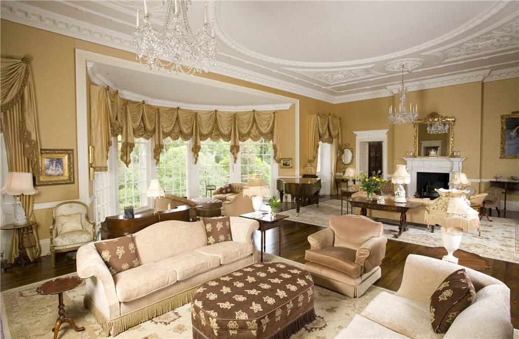 Cushioned Table Coffee Ottoman