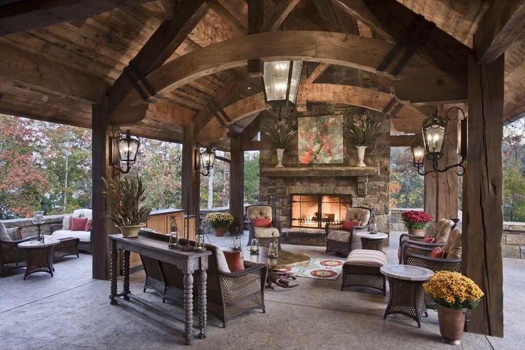62 Beautiful Backyard Patio Ideas & Designs on Backyard Wood Patio Ideas id=93080