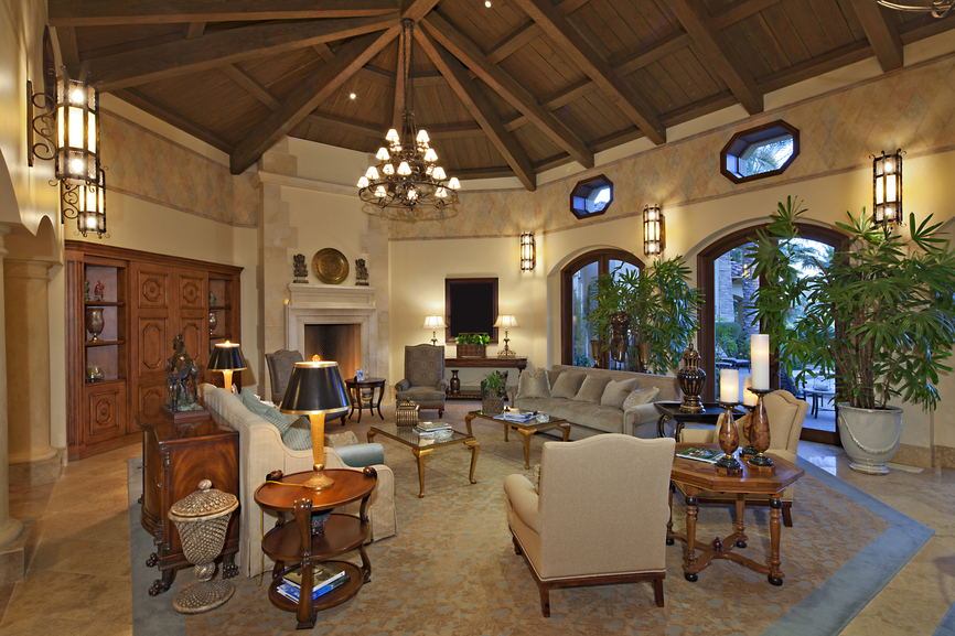 Family Room Decorating Ideas High Ceilings