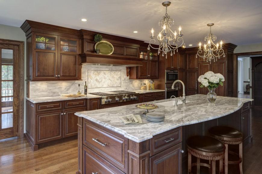 32 Magnificent Custom Luxury Kitchen Designs by Drury Design on Backsplash Ideas For Dark Cabinets And Light Countertops  id=13257
