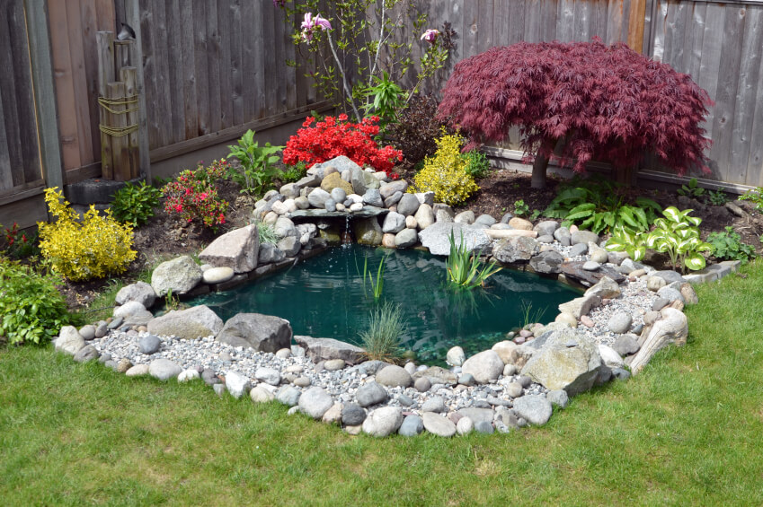 37 Backyard Pond Ideas & Designs (Pictures) on Front Yard Pond  id=99238