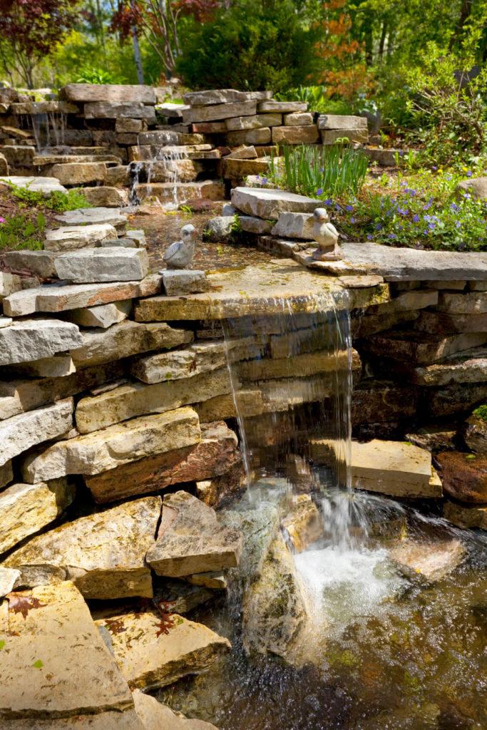 50 Pictures of Backyard Garden Waterfalls (Ideas & Designs) on Rock Garden Waterfall Ideas  id=99735