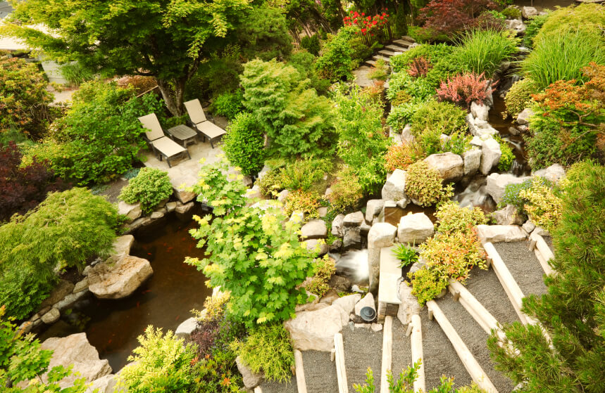 50 Pictures of Backyard Garden Waterfalls (Ideas & Designs) on Front Yard Waterfall Ideas id=99426
