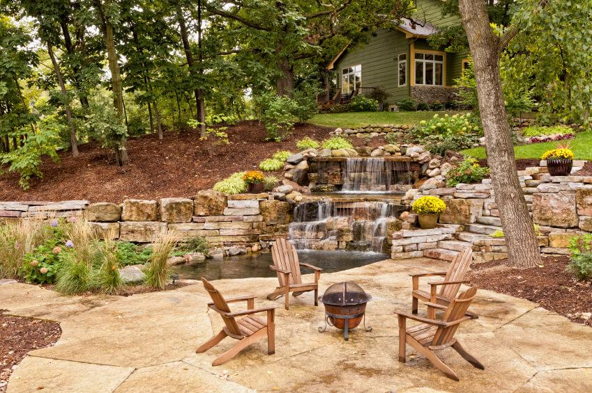 50 Pictures of Backyard Garden Waterfalls (Ideas & Designs) on Front Yard Waterfall Ideas id=60645