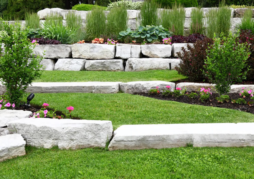 41 Stunning Backyard Landscaping Ideas (PICTURES) on Tiered Yard Ideas  id=70698