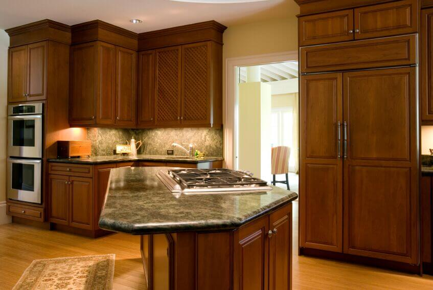 25 Remarkable Kitchens with Dark Cabinets and Dark Granite ... on Dark Granite Countertops With Dark Cabinets  id=58669